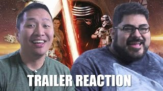 Star Wars: The Force Awakens International Trailer Reaction