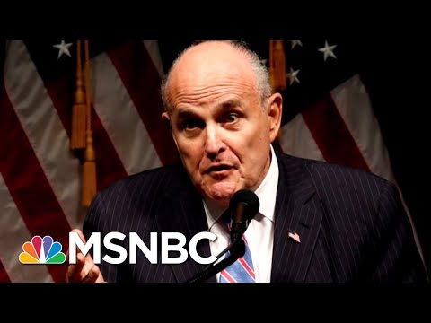 Rudy Giuliani: 'Hand Grenade' Under Investigation - The Day That Was | MSNBC
