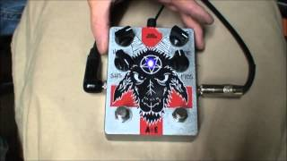 Hail Satan! Big Muff Pedal by Abominable Electronics - Demo Video