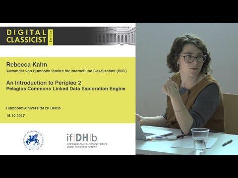 Digital Classicist Seminar Berlin (2017/2018) - Seminar 1