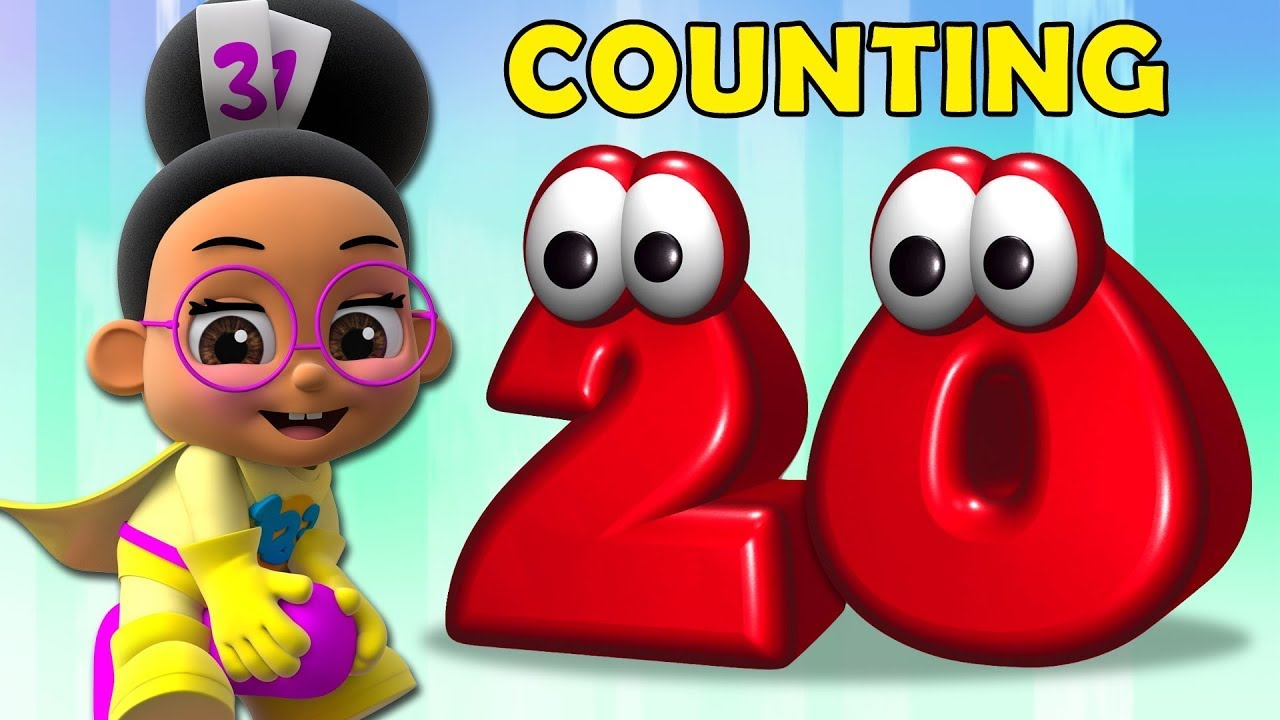 Super Geek Heroes   Learn Counting with Millie Maths   Counting From 1 To 20   Fun Learning for Kids