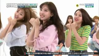 WEEKLY IDOL GFRIEND vs. TWICE vs. GOT7 vs. BTOB 2x speed dance HD