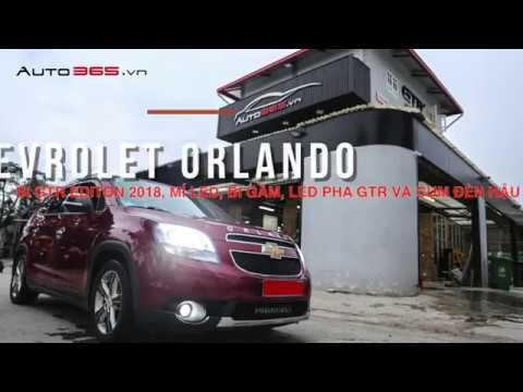 N Led Bi Xenon Cho T Chevrolet Orlando Ti Auto365 Youtube