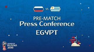 fifa world cup 2018 russia - egypt egypt - pre-match press conference
