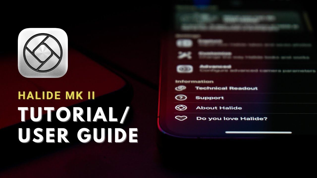 Download Halide Mk II Tutorial // Learn Halide and get the most out of your $36 camera app!