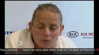 Jelena Dokic upset at Damir Dokic's arrest in Serbia