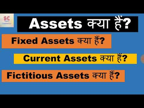 What are assets   what is fixed and current asset   what are fictitious assets?