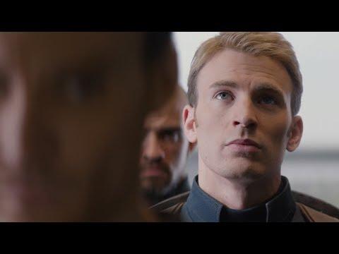 Драка в лифте | Первый мститель: Другая война (2014)
