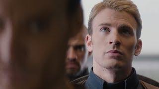 Хайль Гидра! Сцена в лифте. Первый мститель: Другая война (2014)