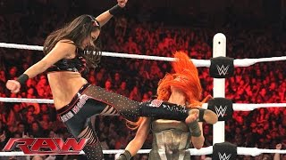 Becky Lynch vs. Sasha Banks vs. Brie Bella vs. Paige - Fatal 4-Way Match: Raw, November 2, 2015