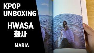 [UNBOXING🎁] HWASA(MAMAMOO)(화사 마마무) - MARIA 마리아 [미니 1집] 앨범언박싱🎁 200630