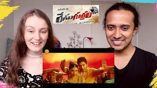 Cinema Choopistha Maava REACTION!! Allu Arjun, Shruti Haasan 🔥😍