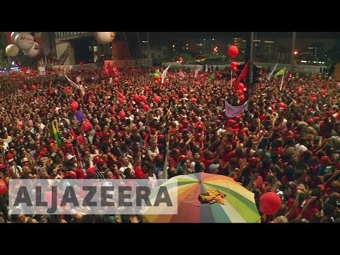 Brazil elections: Workers' Party campaigns for support