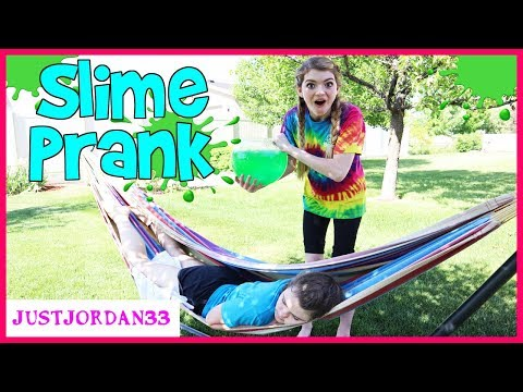 Slime Pranks On My Family / JustJordan33 thumbnail