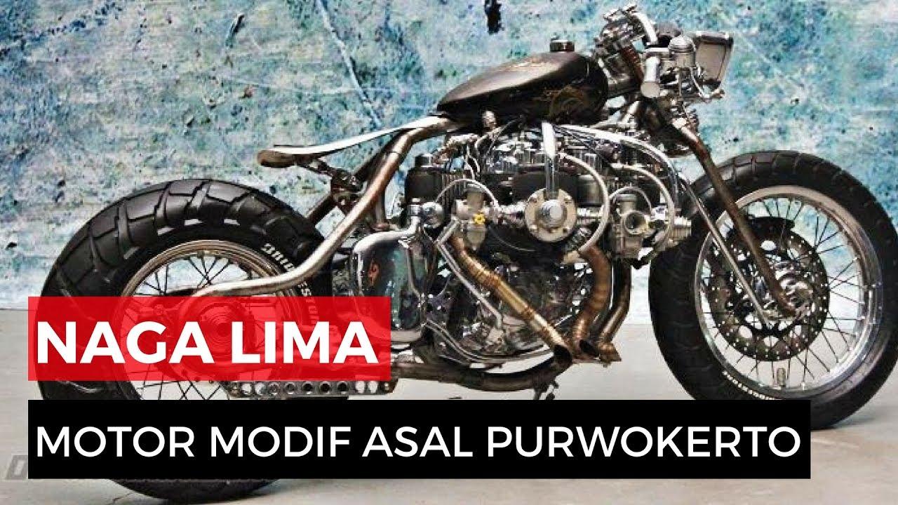 Modifikasi Motor Japstyle Purwokerto Aliranmodif
