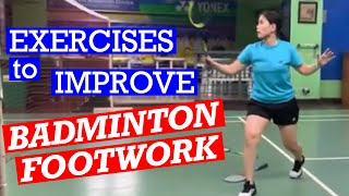 Download lagu BADMINTON FOOTWORK EXERCISES- Improve your footwork with drills you can do anywhere #badminton