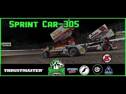 iRacing- 305 Sprint Cars at Eldora Speedway | 2019 Season 1