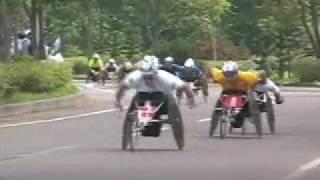 2006年 釧路湿原全国車いすマラソン