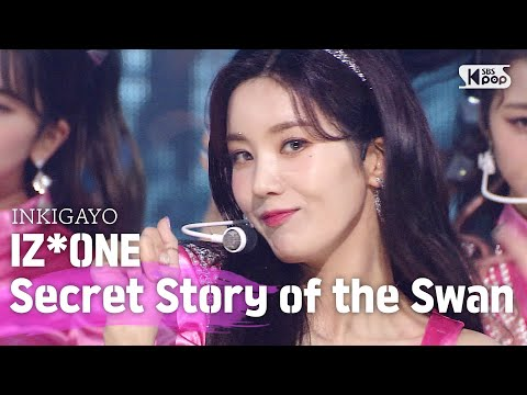 IZ*ONE(아이즈원) - Secret Story of the Swan(환상동화) @인기가요 inkigayo 20200628