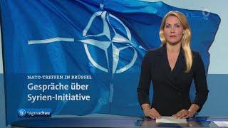 Themen der sendung: gedämpftes echo nato auf vorstoß von verteidigungsministerin kramp-karrenbauer zu syrischer sicherheitszone, bundestag verlängert ant...