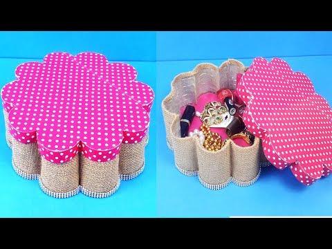 Easy Plastic Bottle Craft Idea - Reusing Old Bislri Plastic Bottle - How to Reuse Waste Material