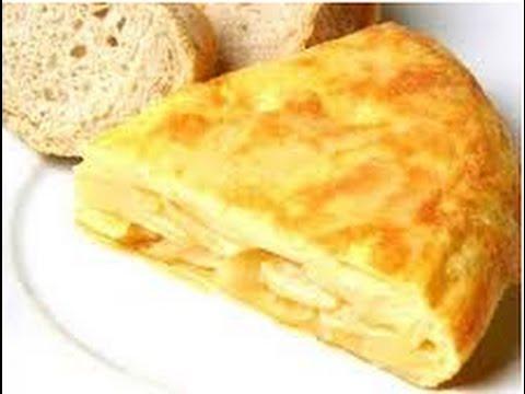 SPANISH OMELETTE - Tortilla de Patatas - Video Recipe - YouTube