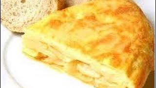 SPANISH OMELETTE - Tortilla de Patatas - Video Recipe
