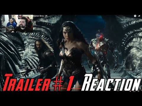 Justice League Trailer #1 Angry Reaction!