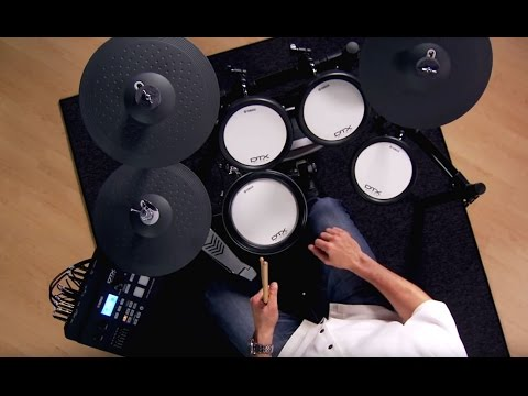 YAMAHA DTX720K Electronic Drum Kit Demo With Steven Fisher