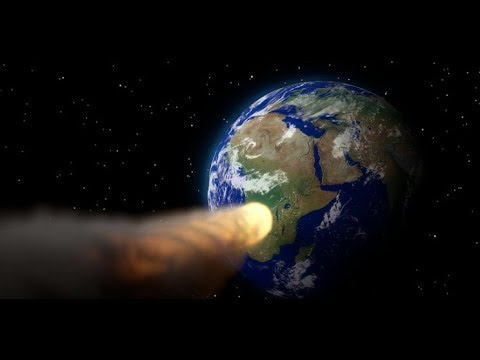 "Breaking ""3 Days Until Asteroid Headed For The Earth"" Apocalyptic Sign"