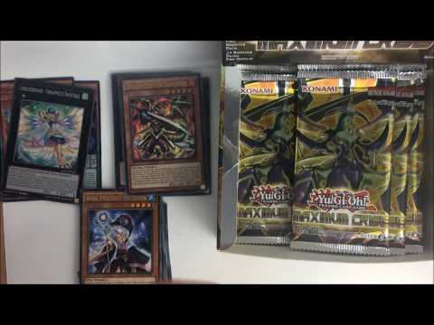 FIRST Yu-Gi-Oh Maxmium Crisis Booster Box Opening ON YOUTUBE!