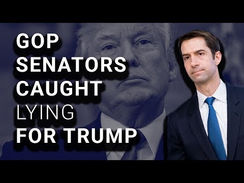 Republican Senators Outed for Lying on Trump's Behalf ...
