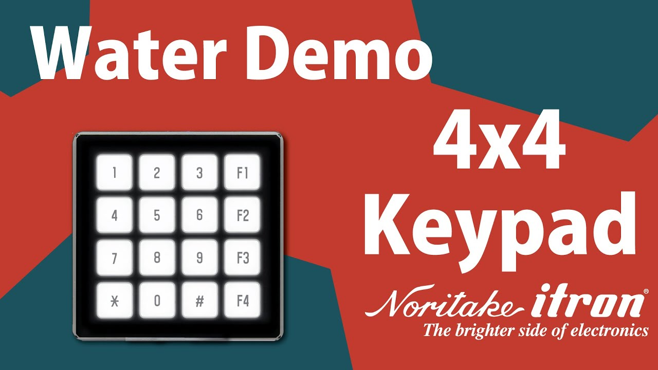 FLETAS | 4x4 Keypad Module | Noritake Co , Inc  Electronics Division