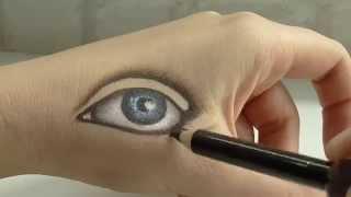 Анна Измайлова Как нарисовать глаз: проект