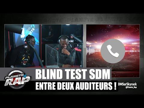 Youtube: Deux auditeurs s'affrontent sur un blind test spécial SDM! #PlanèteRap