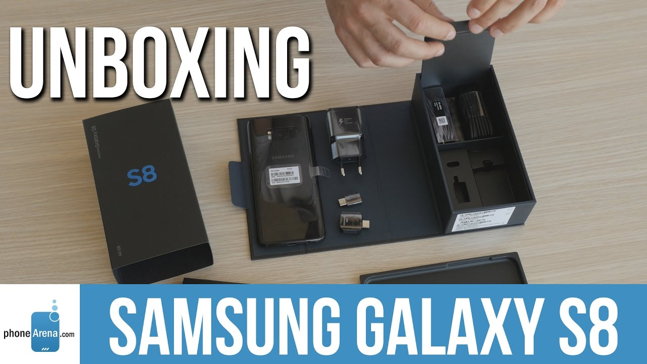 samsung galaxy s8 unboxing youtube. Black Bedroom Furniture Sets. Home Design Ideas