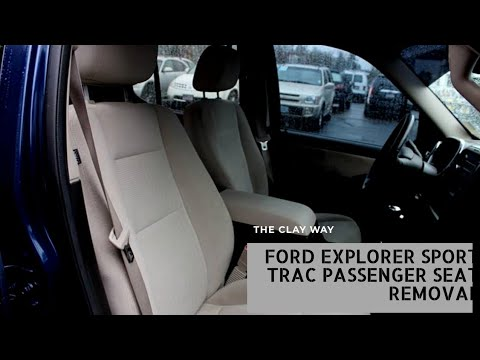 Ford Explorer sport trac Passenger seat removal
