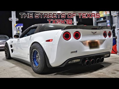 SOME OF THE BEST STREET RACING IN TEXAS!!! (Coyote RX7, 1300hp GTR, Turbo Mustang & MORE)