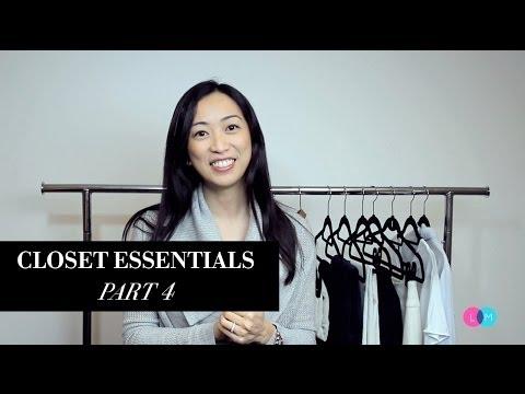 Fashion Closet Essentials - Part 4, closetessentials