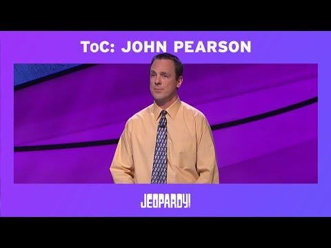 Jeopardy! Tournament of Champions: John Pearson