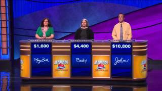 Jeopardy! Tournament of Champions: John Pearson