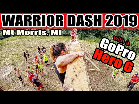 Warrior Dash Michigan 2019 - With A GoPro Hero 6 Black