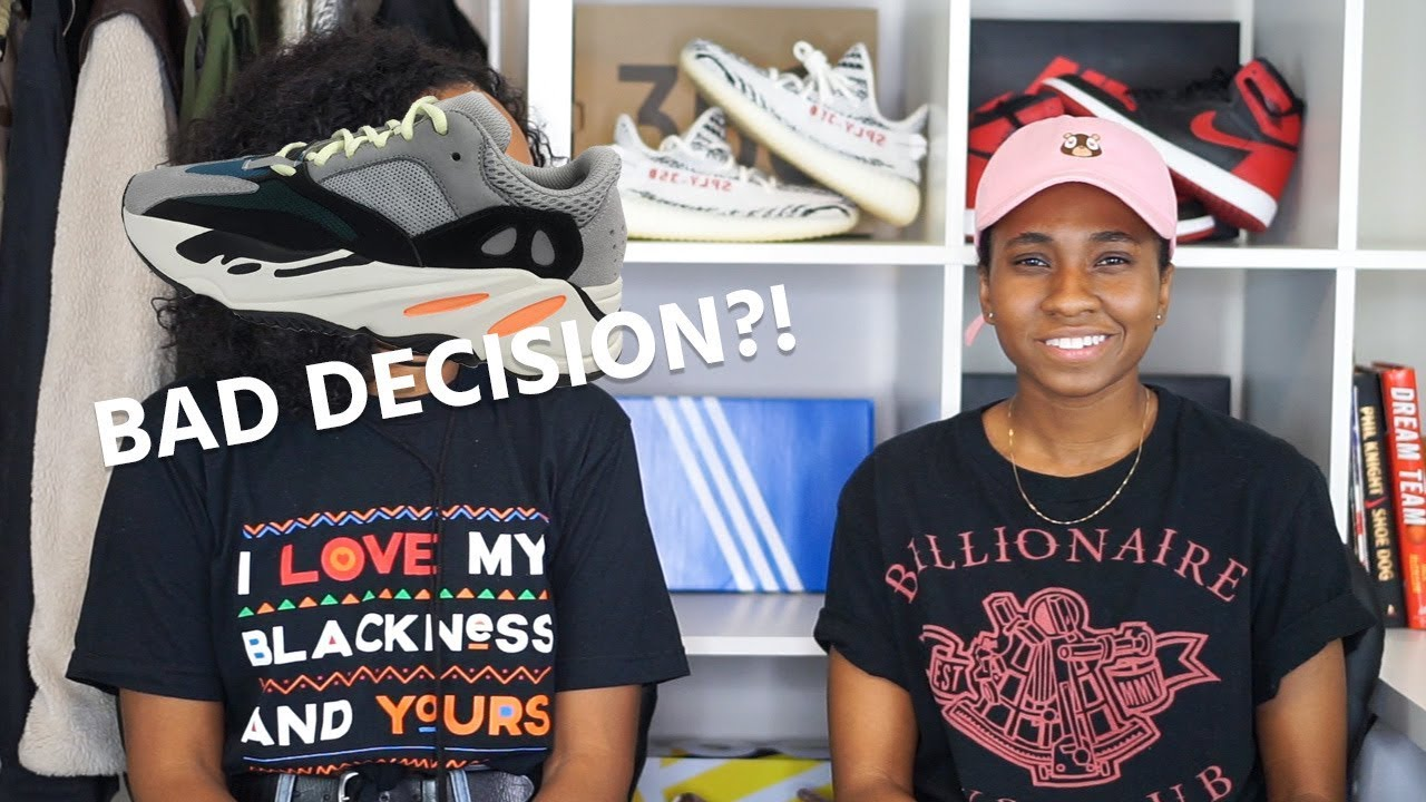 7d8c2d6c6e347 SO THE YEEZY WAVE RUNNER 700 DROPPED... WE COPPED!! - YouTube