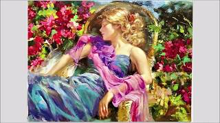 Vladimir Volegov's charming    paintings