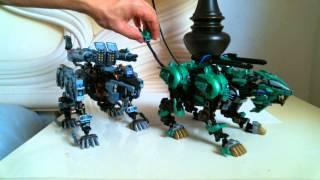 Liger Zero Onslaught Versus Liger S Decimate (Custom Model)