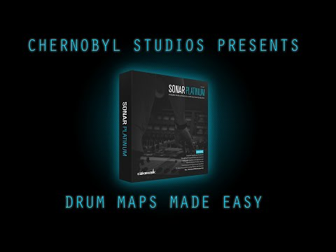Cakewalk Sonar Tutorial [The Basics] - Drum Maps Made Easy
