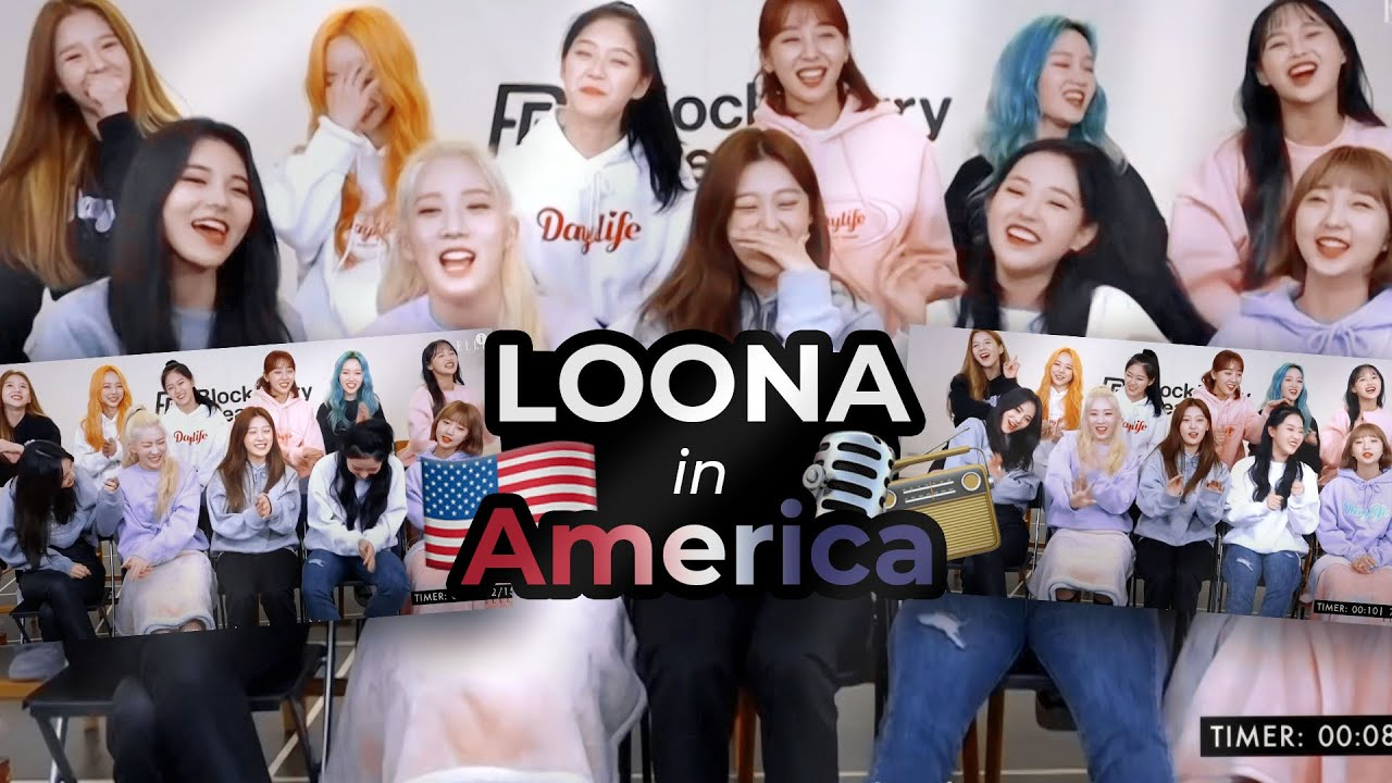 LOONA in America (but not physically) | FUNNY MOMENTS #43