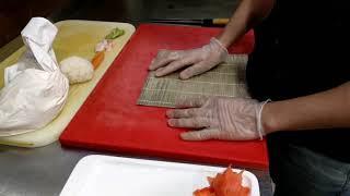 #sushi#Ali_bek#uzbek#uzbekistan#tashkent#bekabod Вкусный ролл яни (Ширин) роллни кандай таййорлаш?