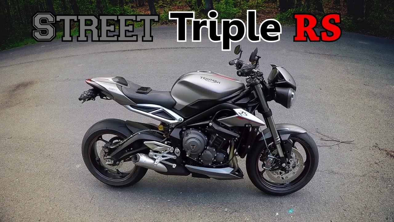 nouvelle moto pr sentation de la street triple rs 2017 youtube. Black Bedroom Furniture Sets. Home Design Ideas