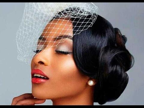 Black Wedding Hairstyles For Black Women - YouTube